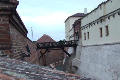 Замок Шпільберк. Довший час в ньому була одна з найвідоміших тюрм Європи