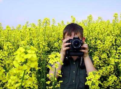 Весняний фотограф :)