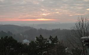 Схід сонця з Високого Замку